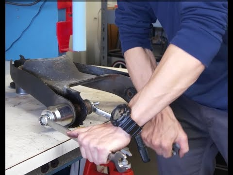 Remove Control Arm Bushings W/OUT a Hydraulic Press | Chevy El Camino Restoration