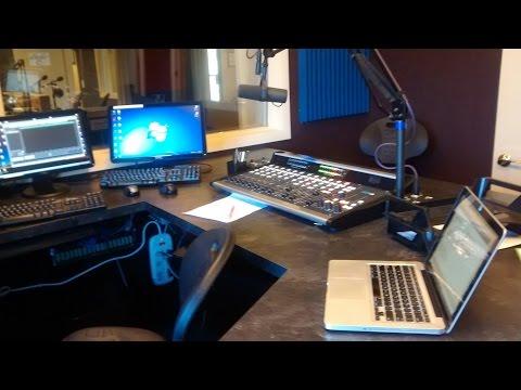 Radio Station Studio A Tour with iAnthuny