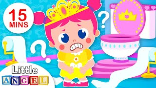 Baby Princess Potty Training Song | Baby Goes to School | Kids Songs & Nursery Rhymes Little Angel