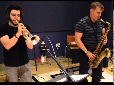 Rick Keller and Mike Cordone Horns