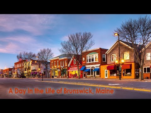 A Day in the Life of Brunswick Maine