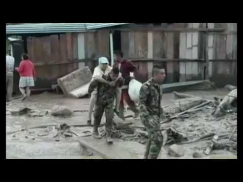 Wall of Water: State of Emergency Declared After Landslides Kill Over 100 In Colombia