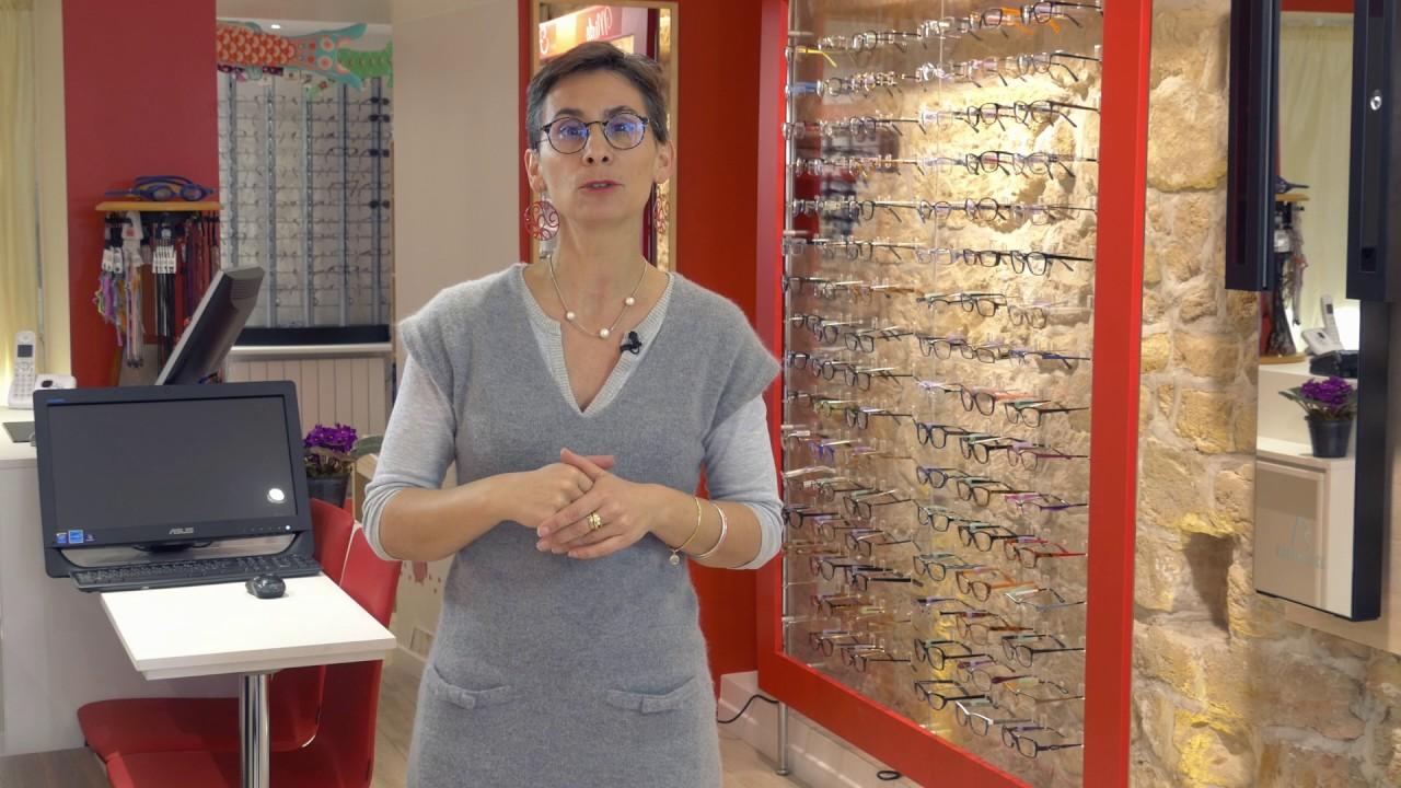 Vidéo marketing pour une boutique d'opticiens visagistes