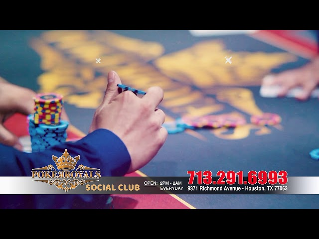 POKER ROYAL social club -15 sec commercial