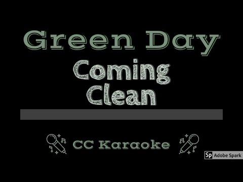 Green Day   Coming Clean CC Karaoke Instrumental