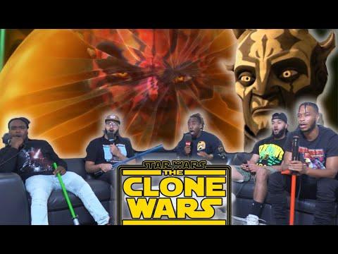 DARTH MAUL?! Star Wars The Clone Wars Ep 313/314 Reaction