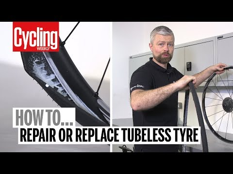 How to Fix a Tubeless Tyre | Cycling Weekly