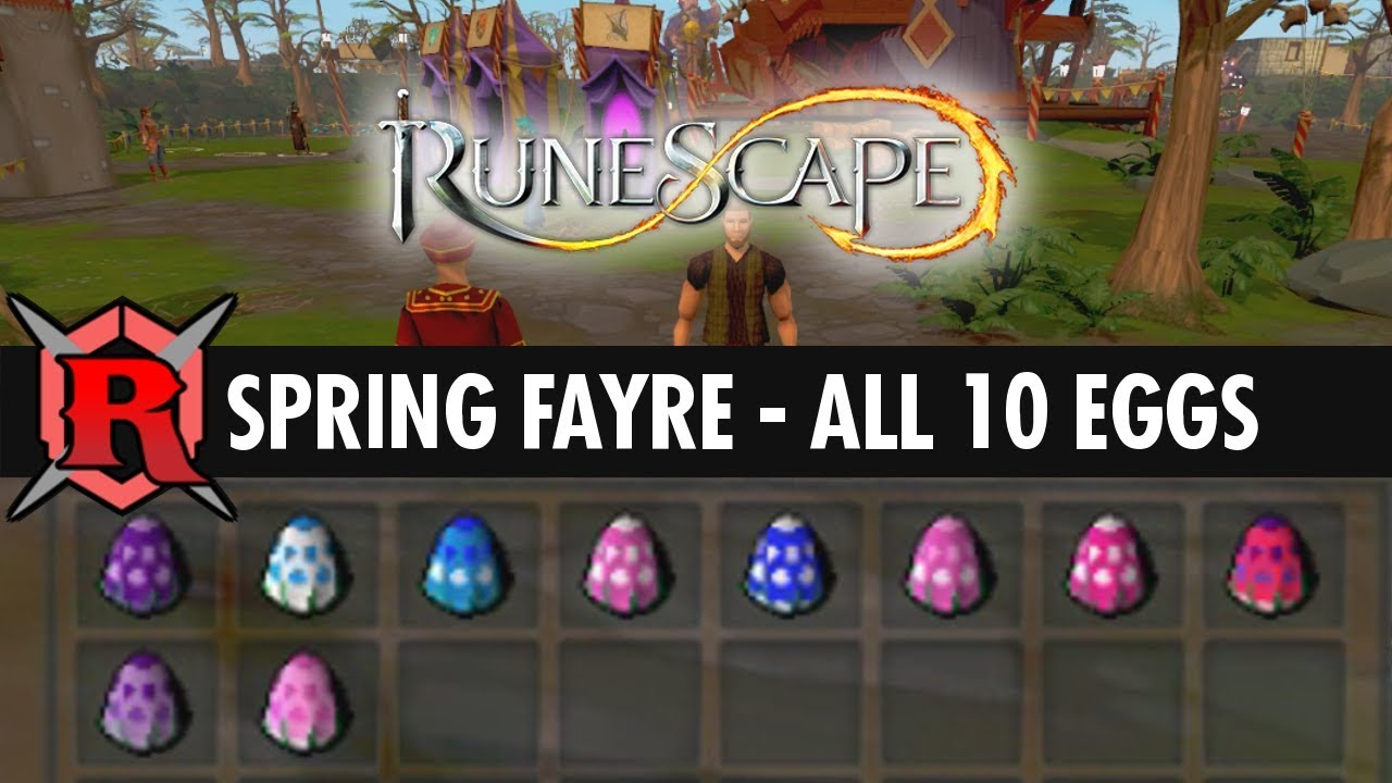 Runescape Spring Fayre Eggs Youtube