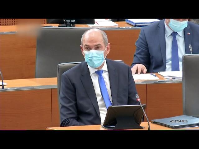 [Poročilo iz DZ] 15. 5. 2020: Vladno poročilo o zaščitni in medicinski opremi ter o nabavah
