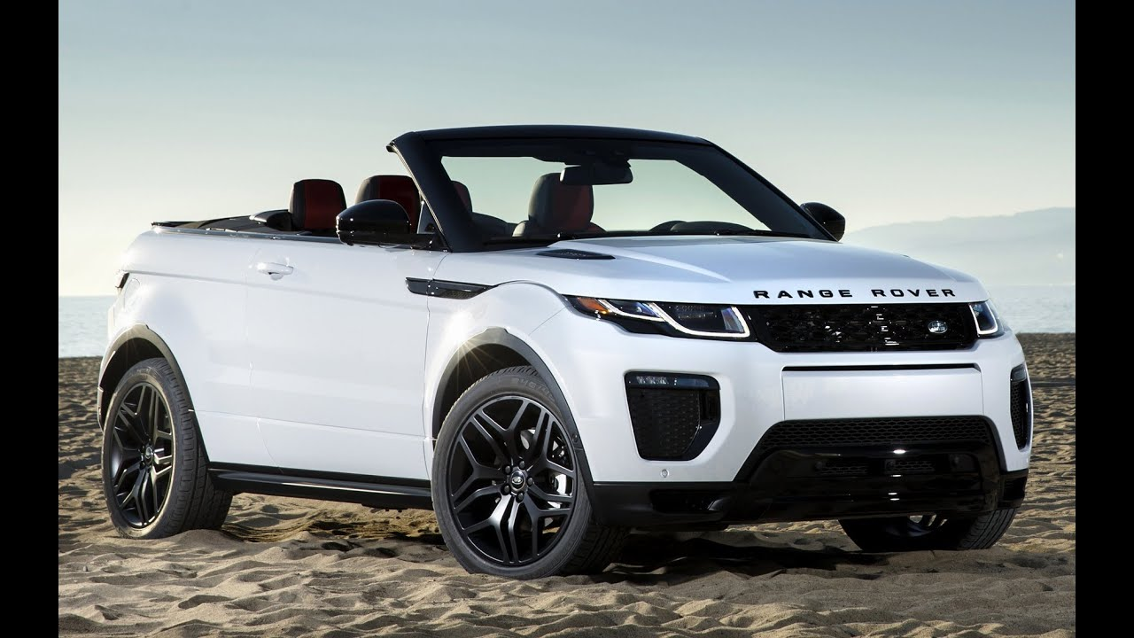 2018 land rover range rover evoque convertible review youtube. Black Bedroom Furniture Sets. Home Design Ideas