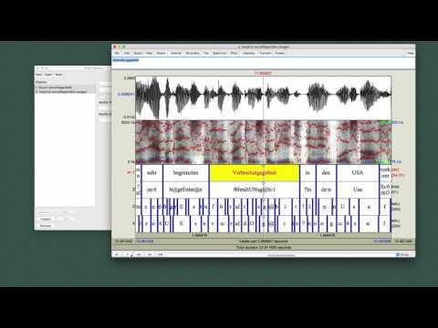 Maschinelle Sprachverarbeitung: Praat from YouTube · Duration:  2 minutes 14 seconds
