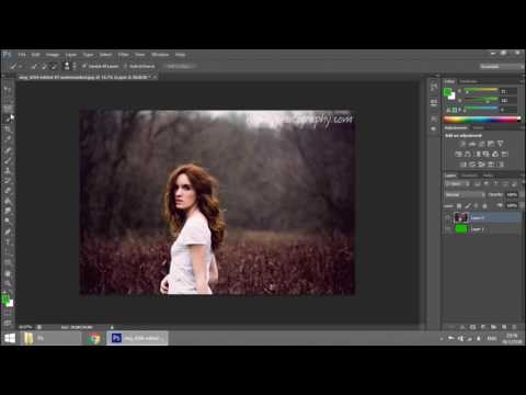 การลบพื้นหลังแบบเนียนๆ #Adobe Photoshop CS6