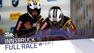 Innsbruck | BMW IBSF World Cup 2018/2019 - Women's Bobsleigh Heat 2 | IBSF Official