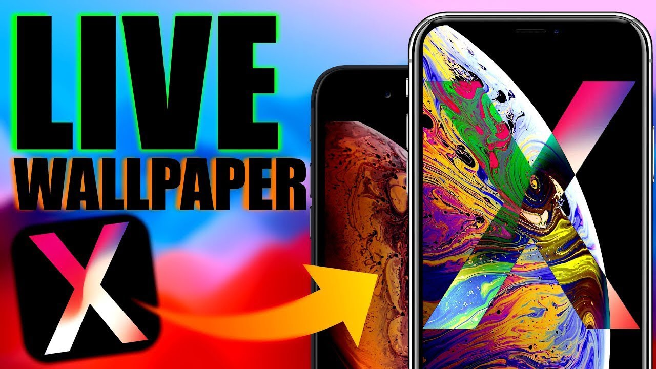 How To Get Iphone Xs Live Wallpaper On Iphone X Youtube
