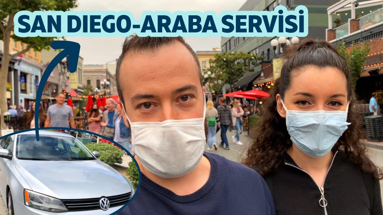 Amerika'da Arabayı Servise Götürdük | San Diego'da Pizzalı Cumartesi