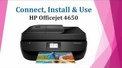 HP Officejet 4650 | 4652 | 4654 | 4655 | 4657 | 4658: Connect Install & Scan