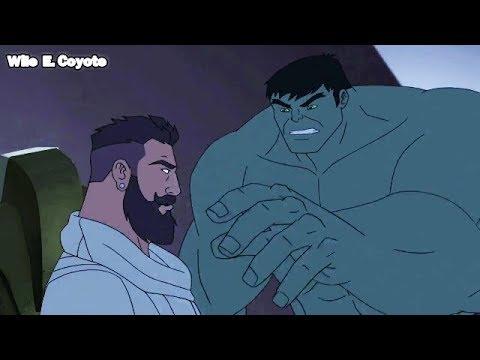 Beyonder vs Hulk ♦ Los Vengadores Unidos T04E17 ♦ Español Latino