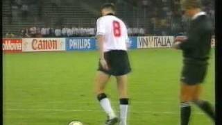 England v Germany penalties 1990 World Cup semi-final