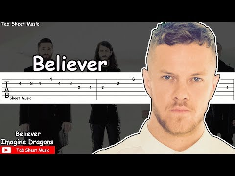 Imagine Dragons - Believer Guitar Tutorial