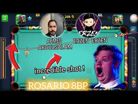 ROSARIO 8BP - 44th Video - INCREDIBLE SHOT!  - Starry Night Ring - Ahmed Abdulsalam - Erzen Erzen