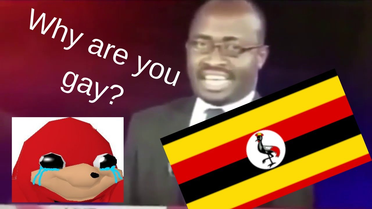 Ugandan TV GREATEST 2 MIN IN HISTORY How are you gay