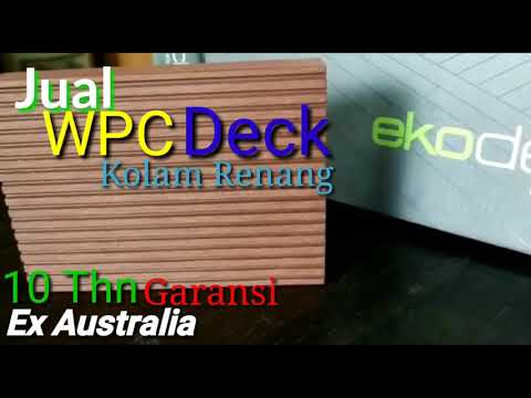 "Jual Decking WpC Import Murah | "" Budi's Pool Corner """