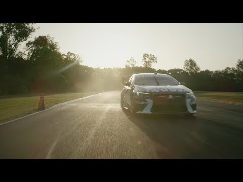 New ZB Commodore Supercar On Track
