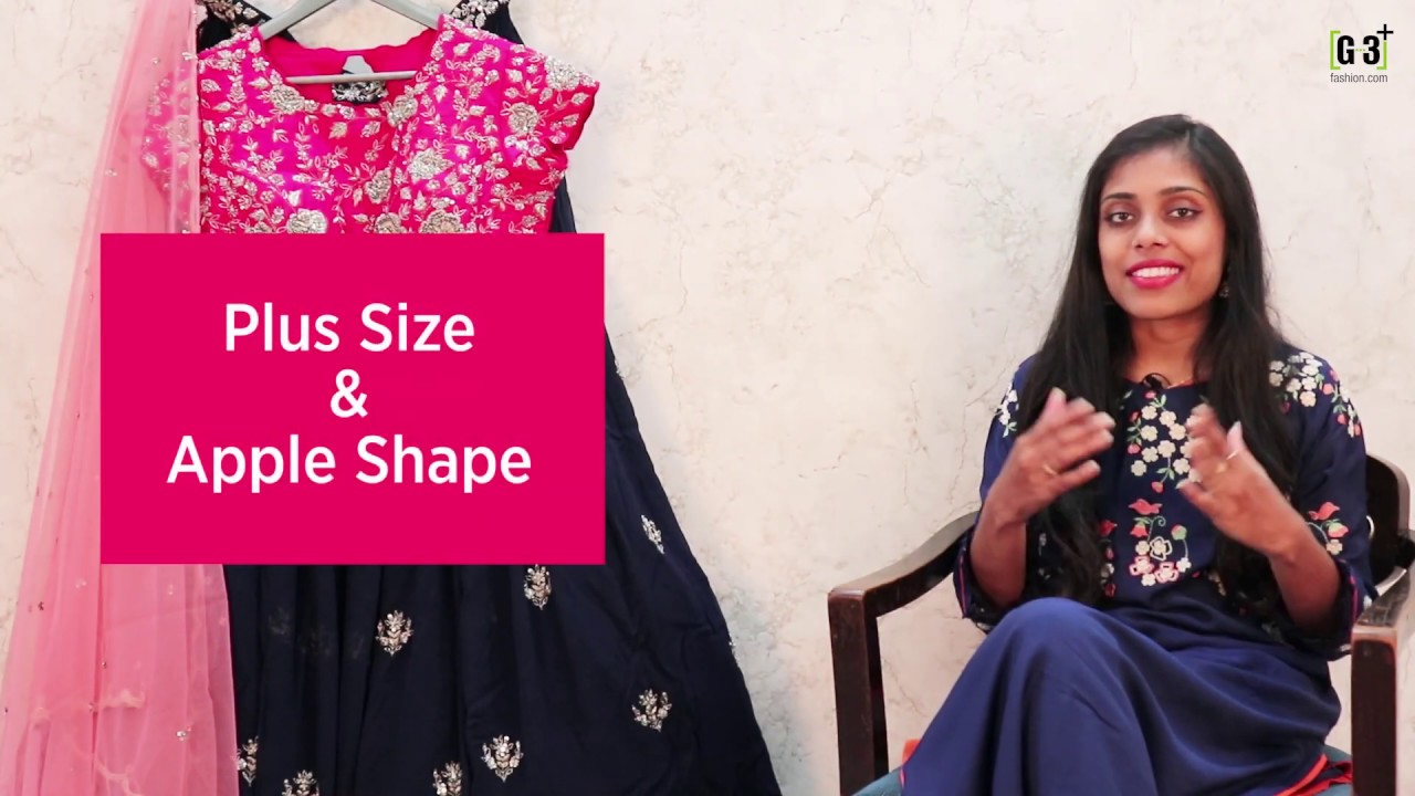 2db46d3234 How to choose Lehenga for Your body shapes, Plus Size, Pear, Slim ...