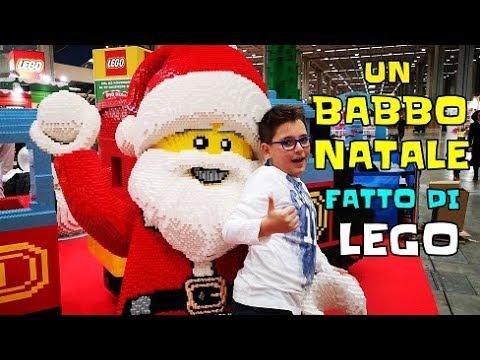 BABBO NATALE FATTO DI LEGO A G COME GIOCARE - Leonardo D