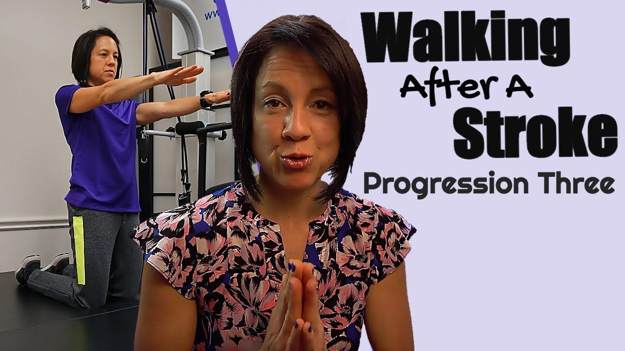 Stroke Walking Exercise: Progression 3