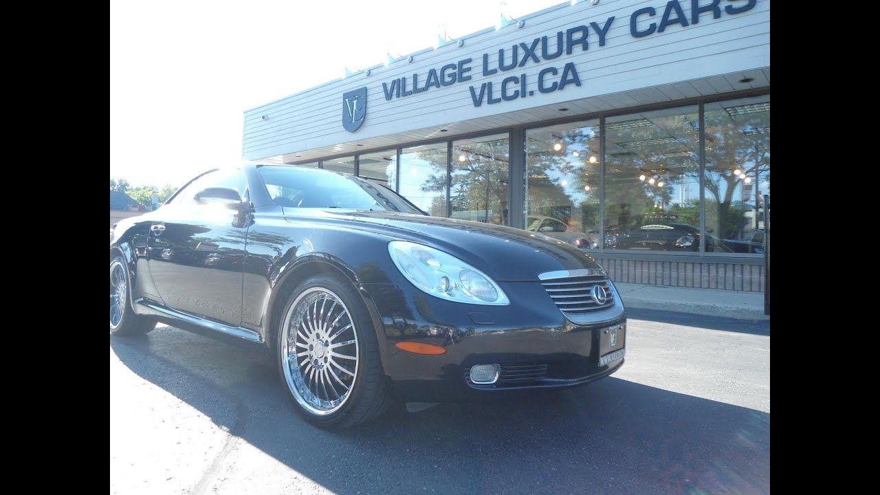 2003 Lexus Sc430 In Review Village Luxury Cars Toronto