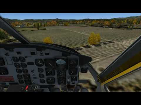 Repeat Milviz MD530F Start-up, Flight around ORBX KJAC by On The