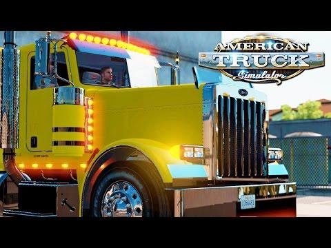 American Truck Simulator Live! #29 - 600HP CAT
