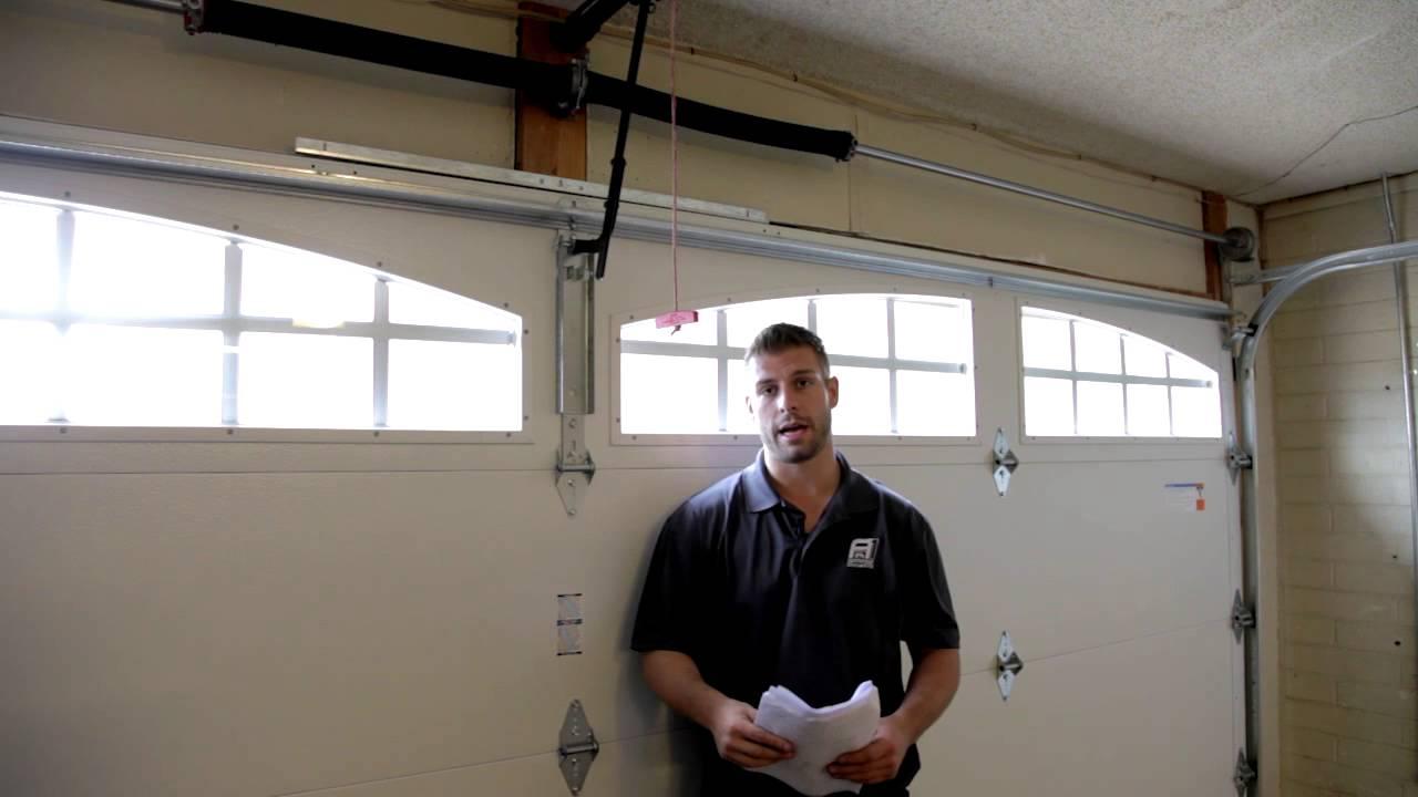 Garage Door Wont Go Up or Down  YouTube