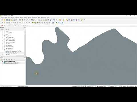 [QGIS] แปลงระบบพิกัด indian1975 เป็น WGS1984 (How to converted coordinated system in QGIS)