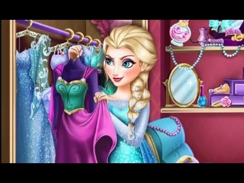 Disney Frozen Princess Elsa Dress Up Games For Girls To