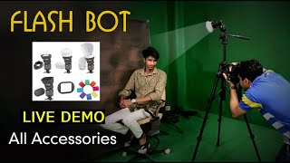 How to use Digitek Flash Bot with Flash Light
