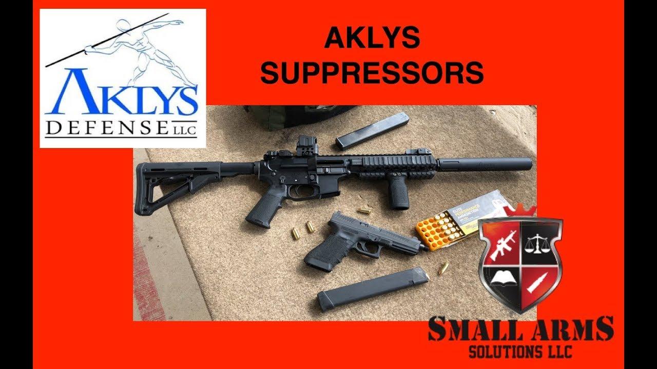thumb 305 / 305 Akly's Defense Kopis and Pilum Suppressors