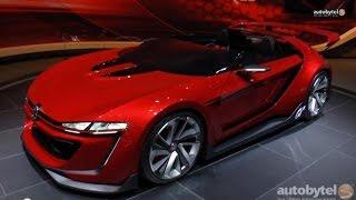 Volkswagen Concept Cars - Vision GTI Roadster, Golf R 400 & SportWagen from the LA Auto Show 201
