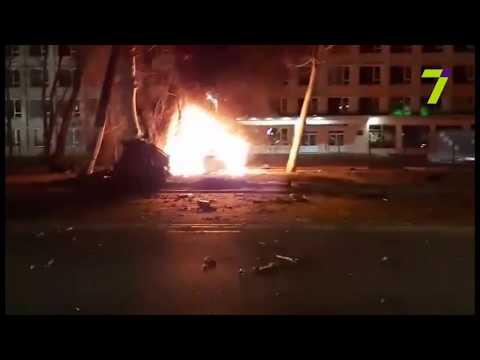 Новости 7 канал Одесса: Возле Политеха жуткое ДТП с погибшими: BMW X6 врезался в столб