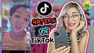 REACTING TO THE TIK TOKS OF MY HATERS!!
