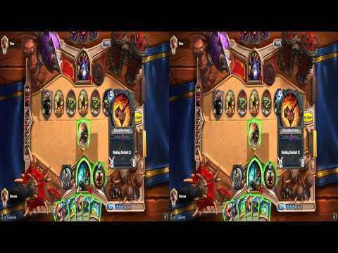 [Hearthstone] Extreme 3D Video (1440p Stereoscopic 3D)