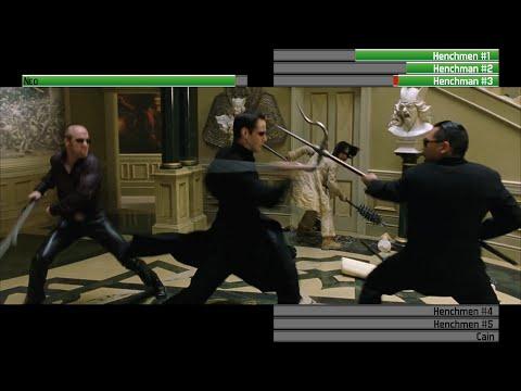 Neo vs Vampiric Henchmen...and Cain...with healthbars