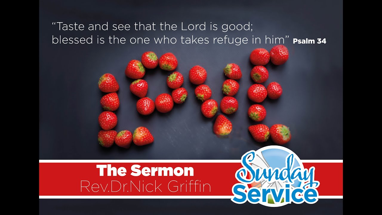 Sunday's Sermon Psalm 34