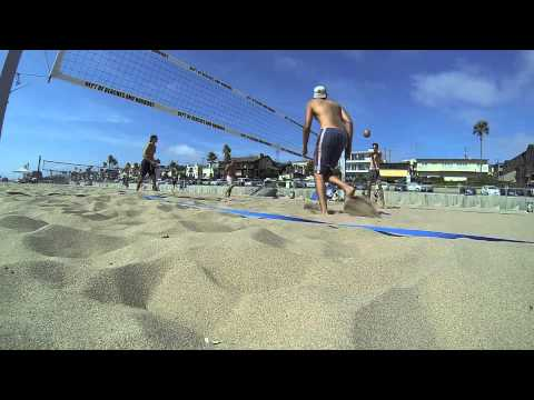 Santa Monica Beach Volleyball 2014 Compilation