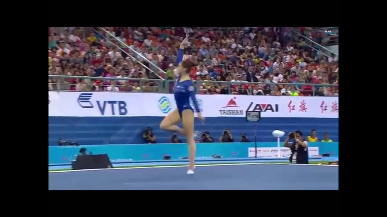 Route To Rio Aliya Mustafina Floor Exercise Dream Routine