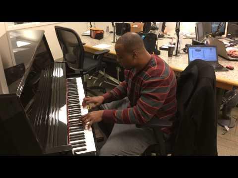 Jerod Cherry on the Piano