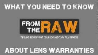 What you should know after you buy a lens! Nikon Lens warranty