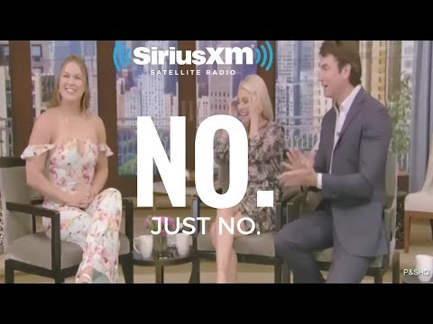Ronda Rousey's Cringe-Worthy Interview With Kelly Ripa and Jerry O'Connell