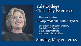 Class Day, a Yale College tradition, takes place on Old Campus on S...